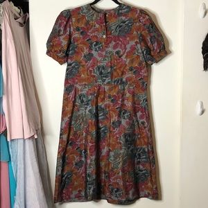 Vintage Floral dress. M